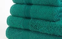 Plain towels available in 16 colours