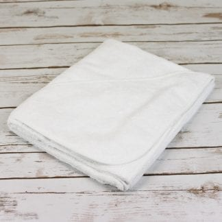 large hooded baby towel