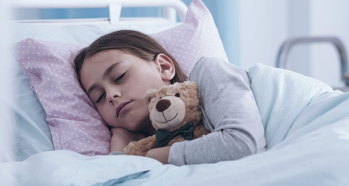 Provision of healthcare for children in hospital