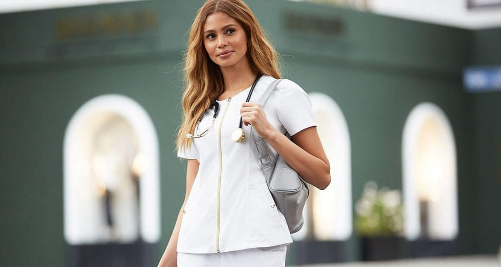 Invest in stylish new scrubs