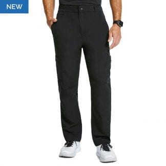 scrub trousers with pockets