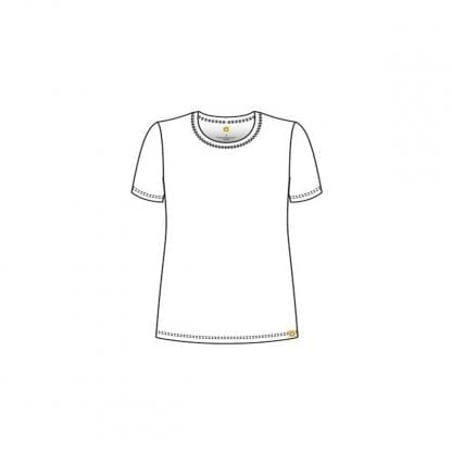 Layers Short Sleeve T-Shirt WW2209 Style Outline